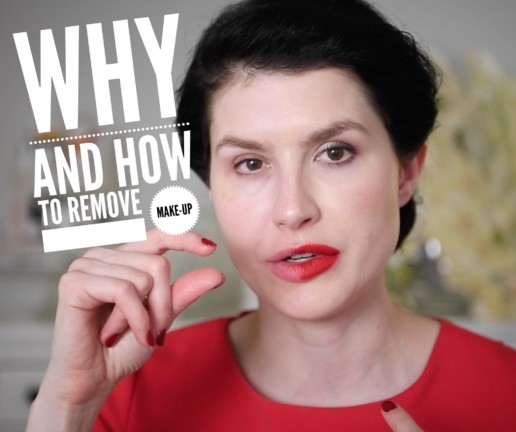 how to remove makeup avoid acne