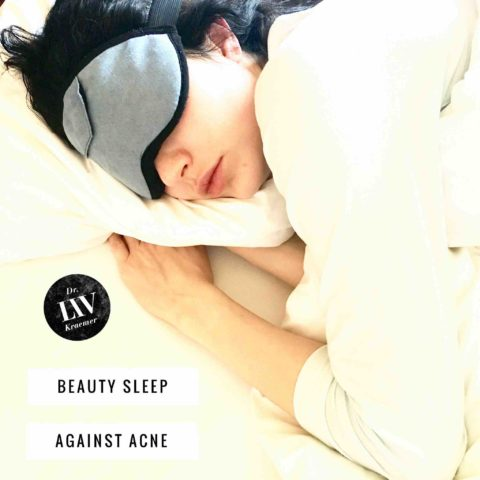 beauty sleep can affect your skin and causes acne tips by Dr Liv